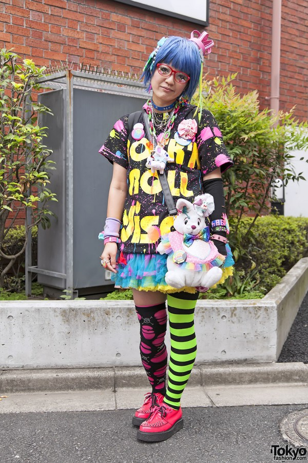 Harajuku Fashion Walk Street Snaps 11 (34)