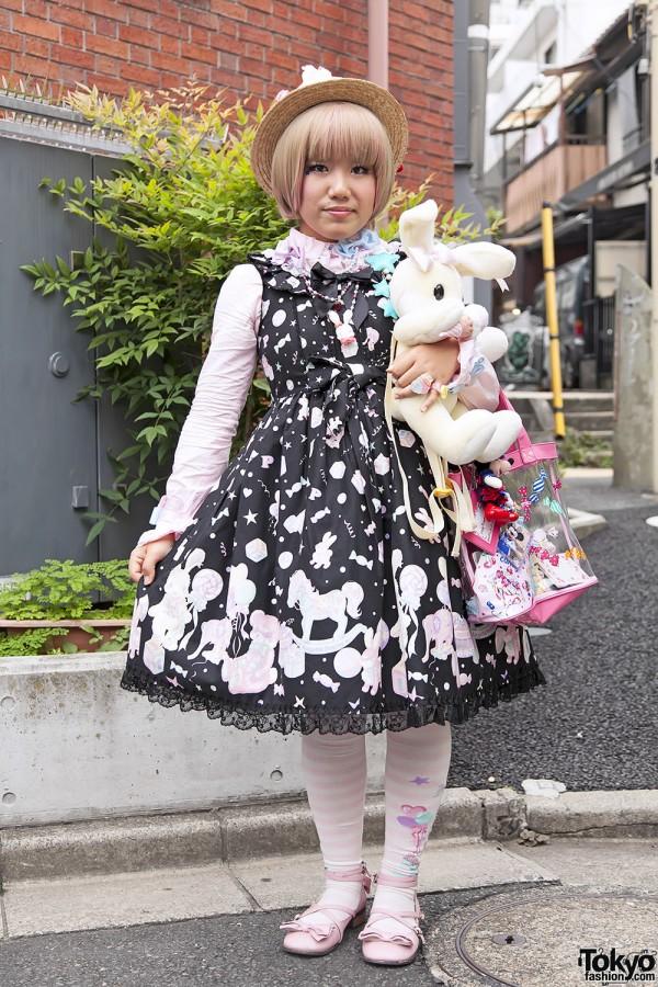 Harajuku Fashion Walk Street Snaps 11 (36)
