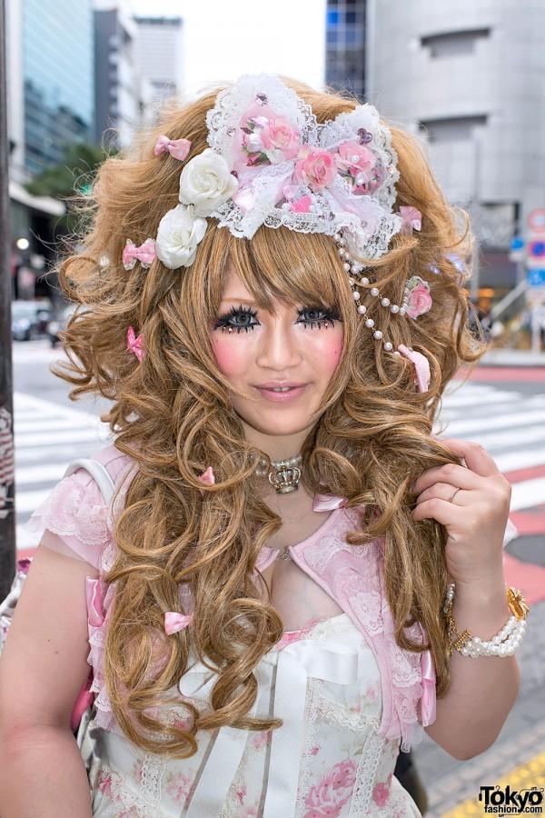Japanese Hime Gyaru Hairstyle