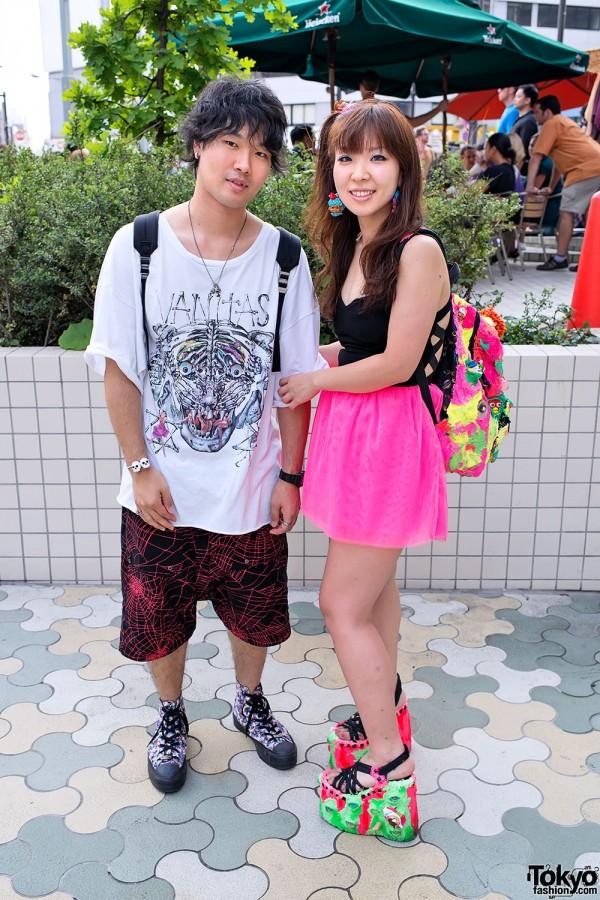 Harajuku Couple With Zaorick Mochasse