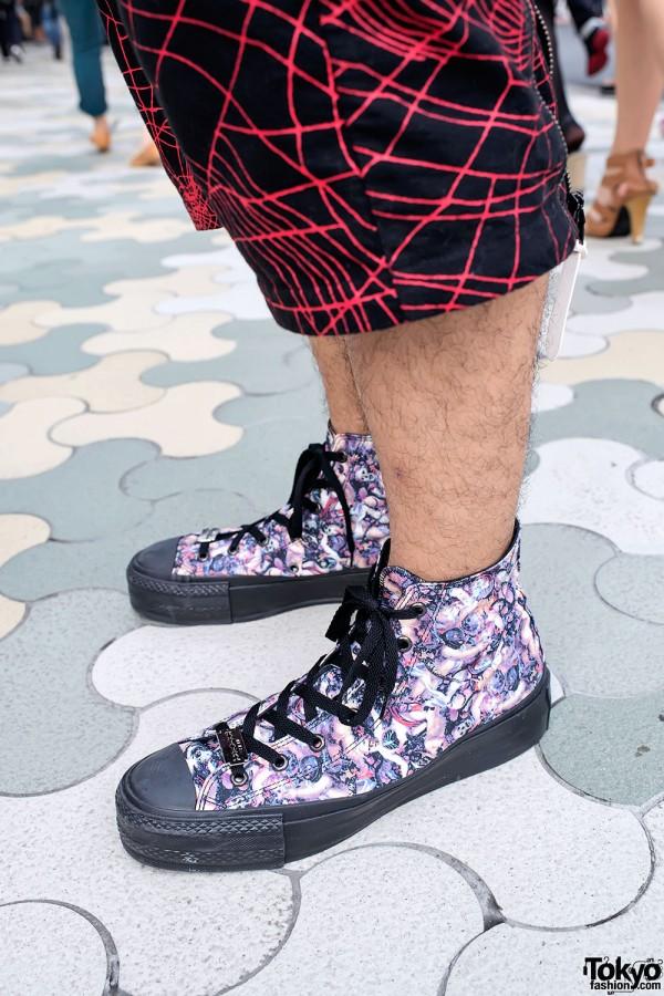 Hiro High Top Sneakers
