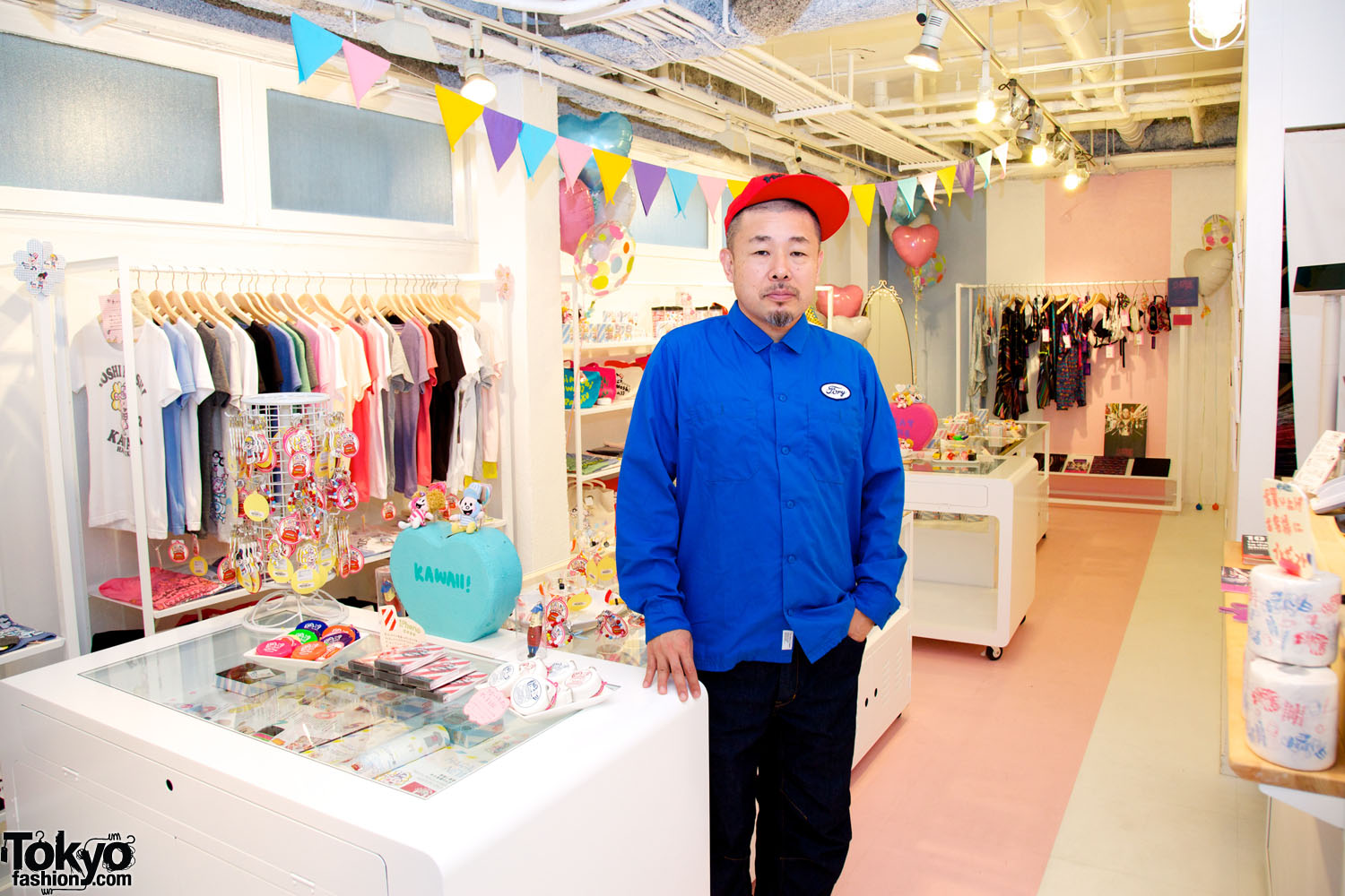 a4b6a5e5af04 Yone at Moshi Moshi Kawaii Harajuku. The Moshi Moshi Kawaii Harajuku shop  features tons of cute ...