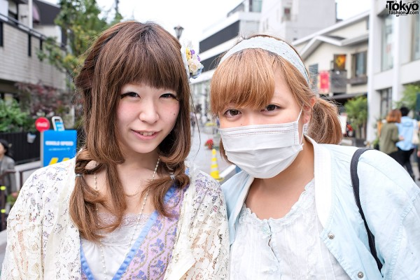 Cute Harajuku Girls on Cat Street