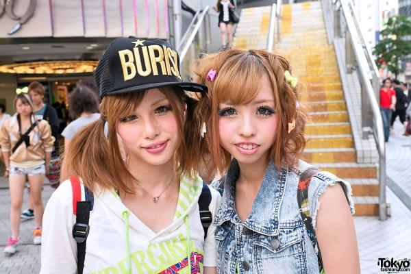 Shibuya Twintail Hairstyle & Bows