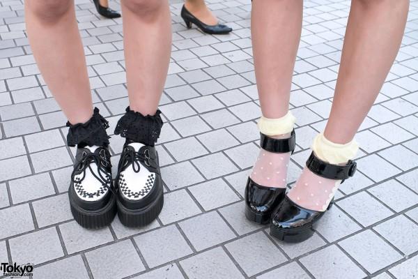 Creepers & Platform Heels in Shibuya