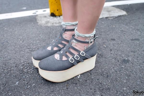 Tokyo Bopper Platform Shoes