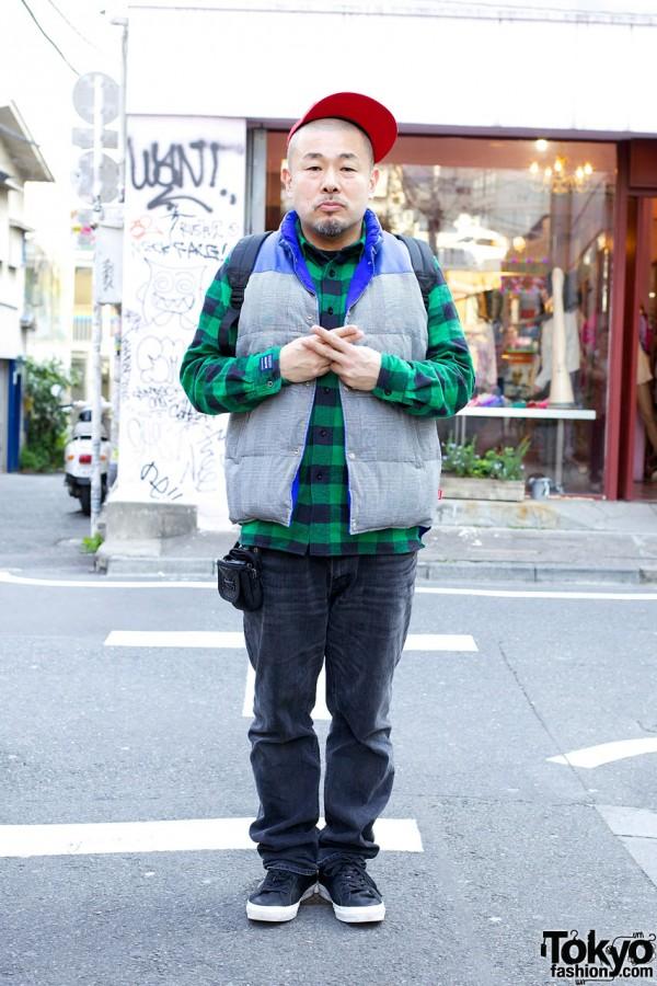 """Yasumasa """"Yone"""" Yonehara Harajuku Street Snaps"""