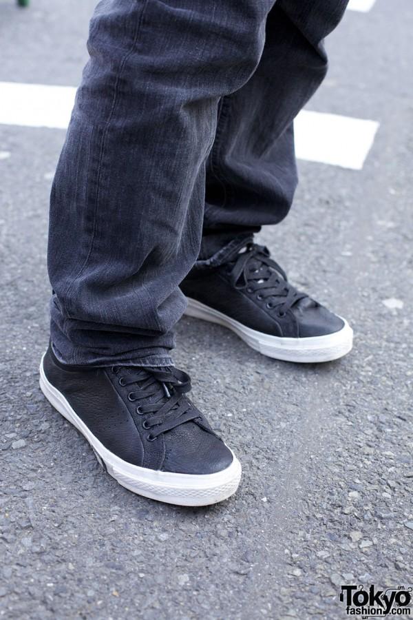 Yone's Sneakers in Harajuku