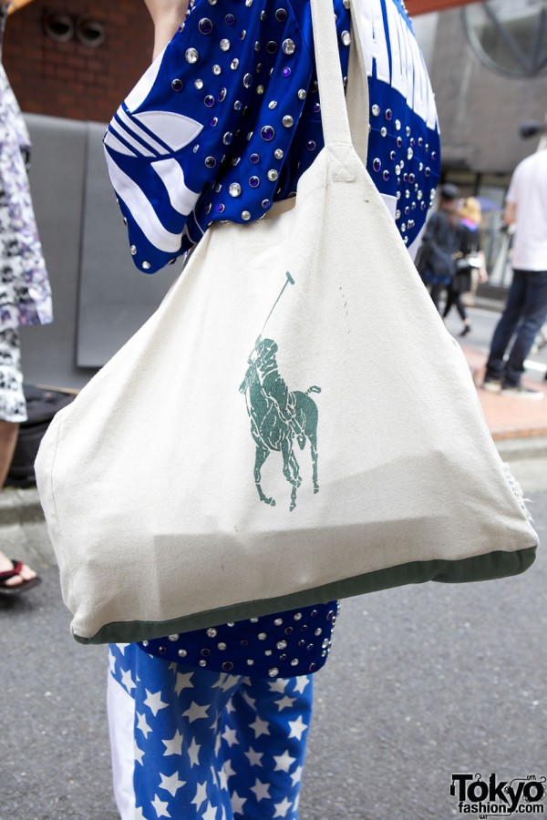 Ralph Lauren bag in Harajuku