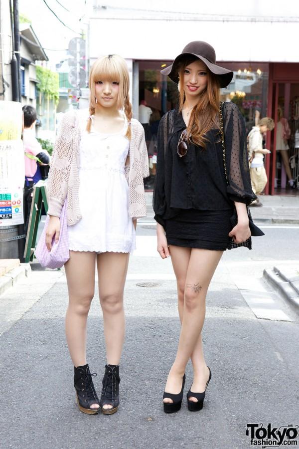 Harajuku Girls' Contrasting Styles from H&M, Lip Service, ANAP & Nadia