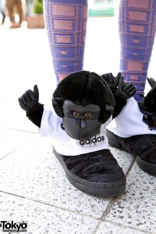 Jeremy Scott Adidas Monkey Sneakers