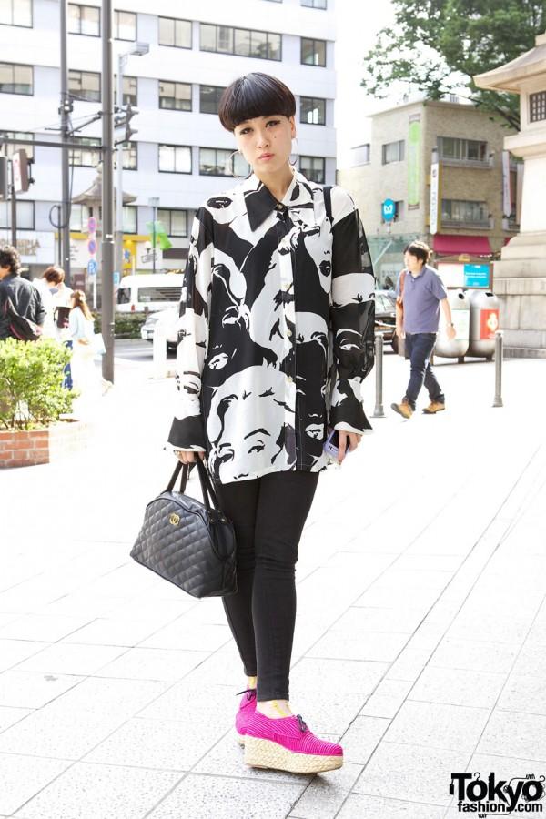 Sister Tokyo Staffer in Harajuku