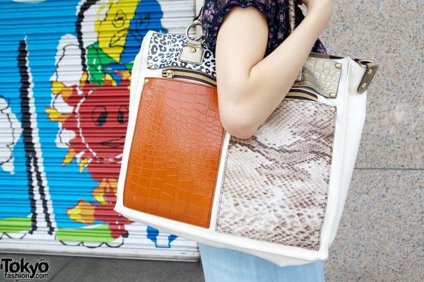 Eliane Gigi pieced handbag