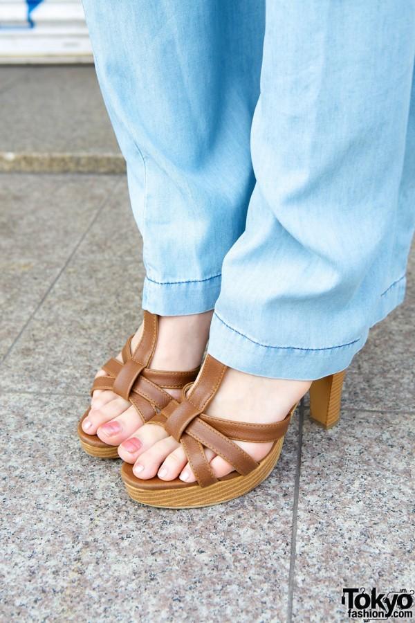 High heel sandals from Salus