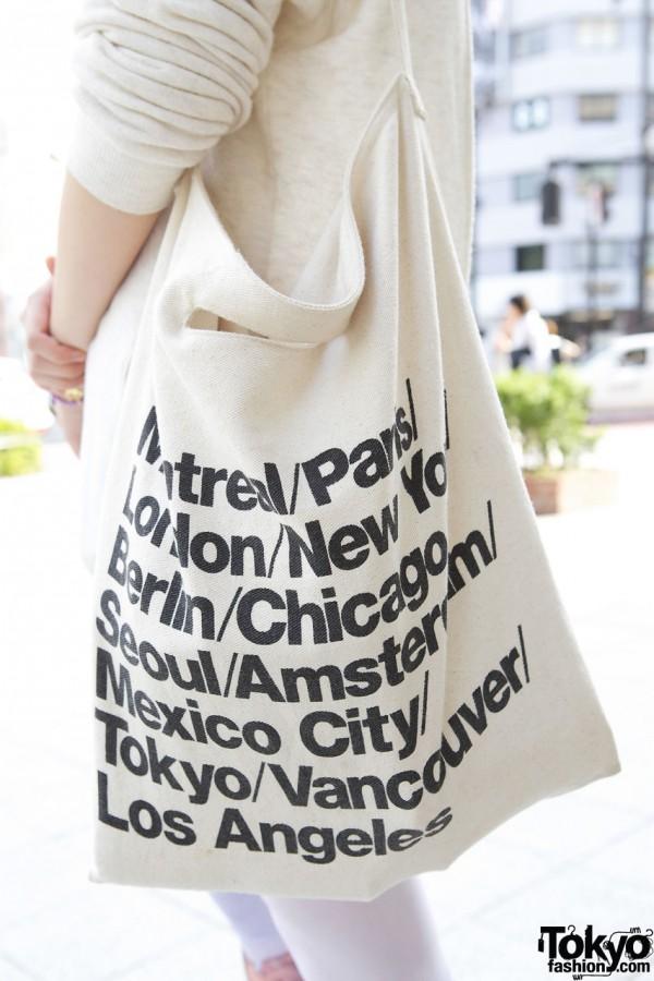 American Apparel Bag in Harajuku