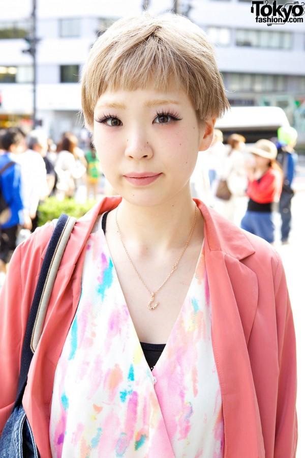 Forever 21 jacket & romper in Harajuku