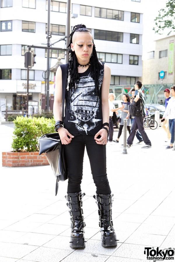 Indie Japanese Fashion Designer in Harajuku