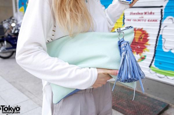 Kawi Jamele handbag w/ tassel