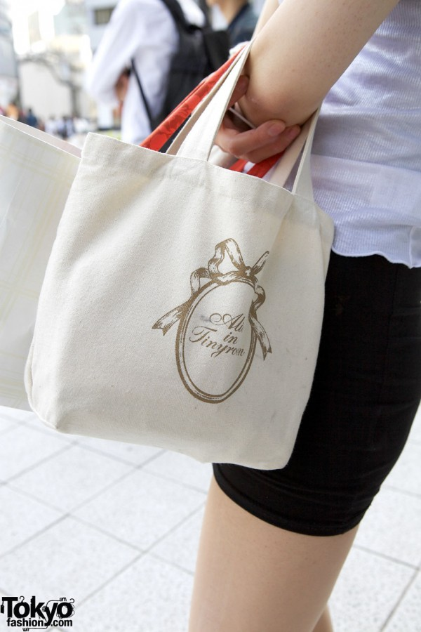 Tote bag from Alice in Tinyroom
