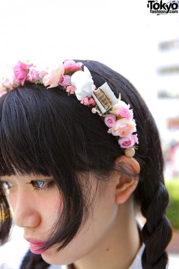 Flower Headband in Harajuku