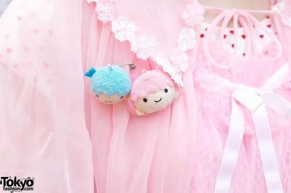Boy & girl yarn pins