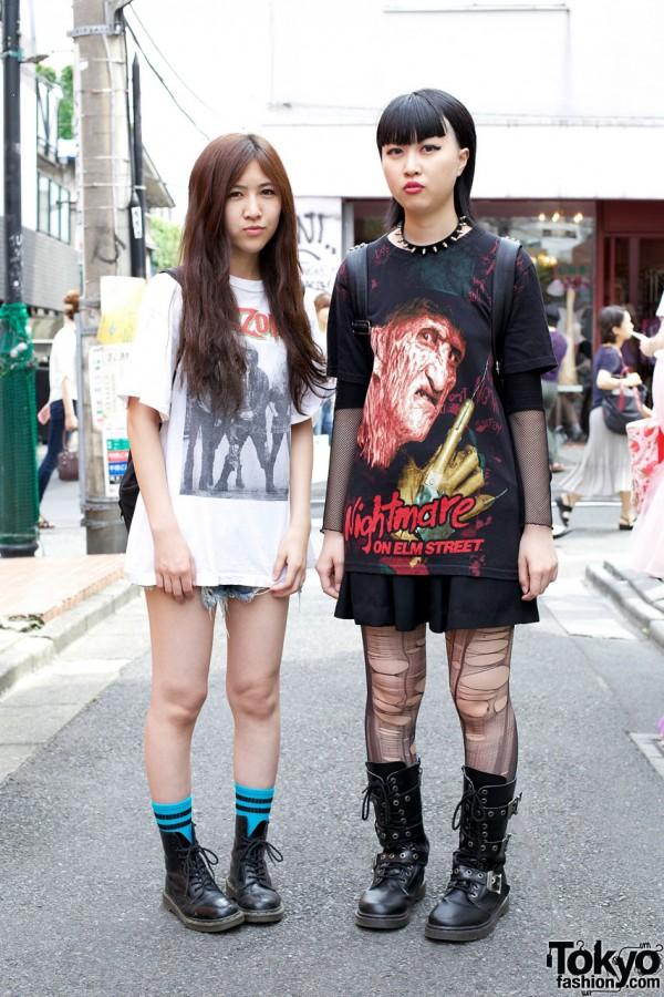 White Zombie & Nightmare on Elm Street t-shirts