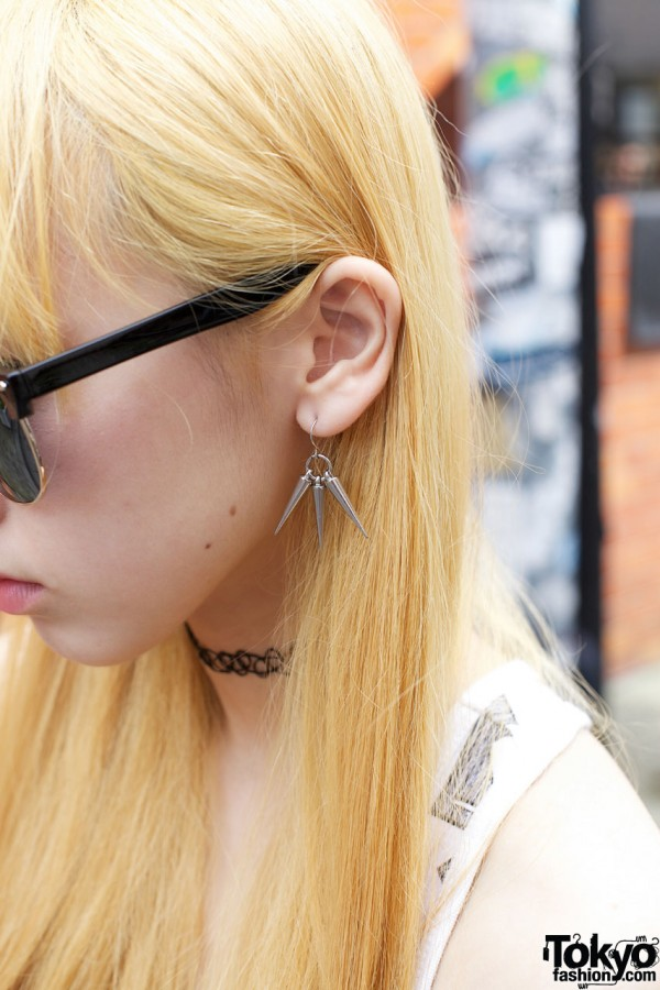 Spike Earring in Harajuku