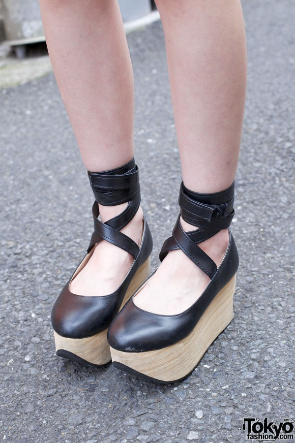 Bodyline Rocking Horse Shoes in Harajuku
