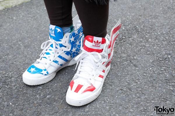 Jeremy Scott winged Adidas sneakers