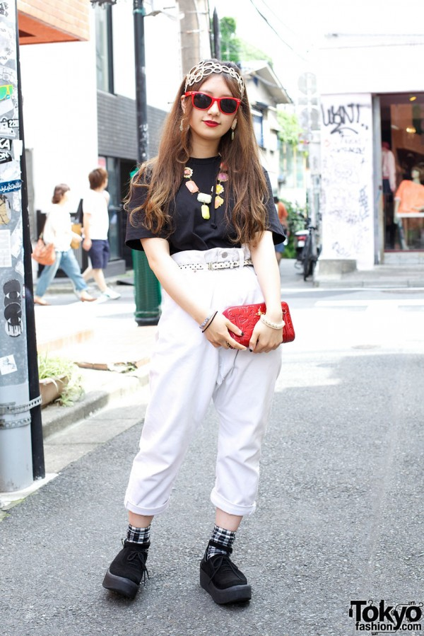 Tokyo Bopper Minami in High Waist Pants