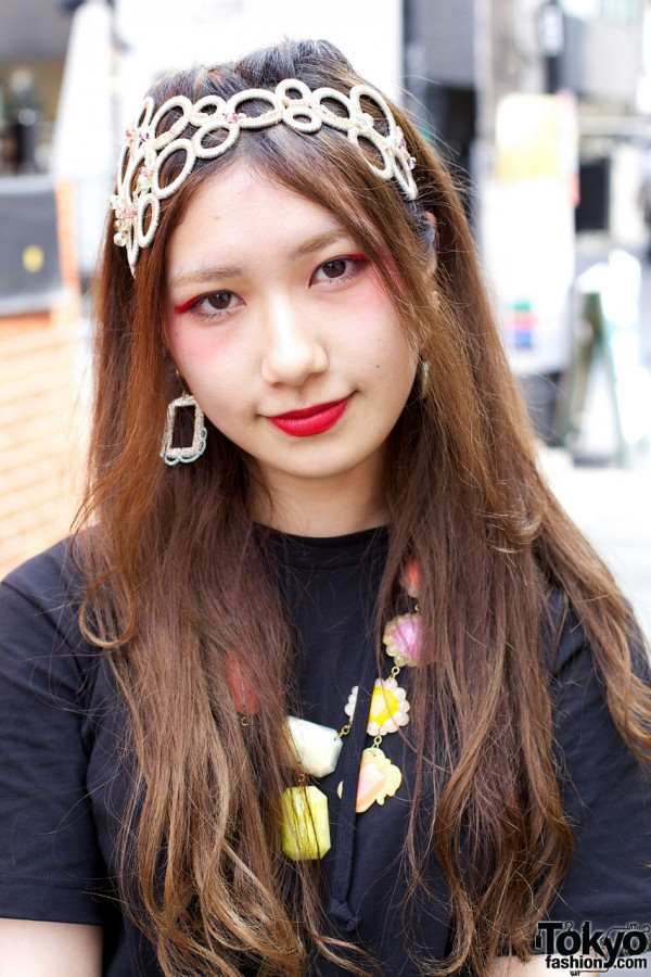Red Lipstick in Harajuku
