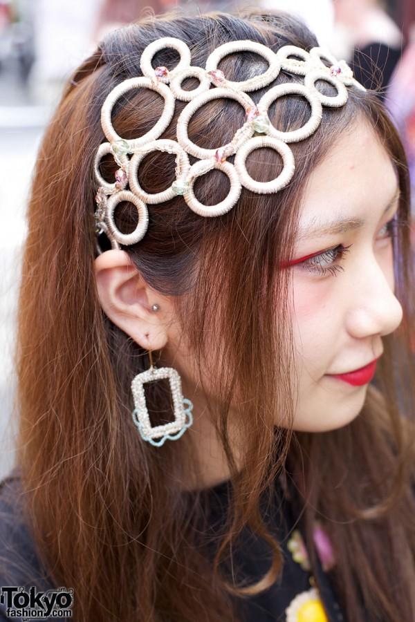 Circles Hairband in Harajuku
