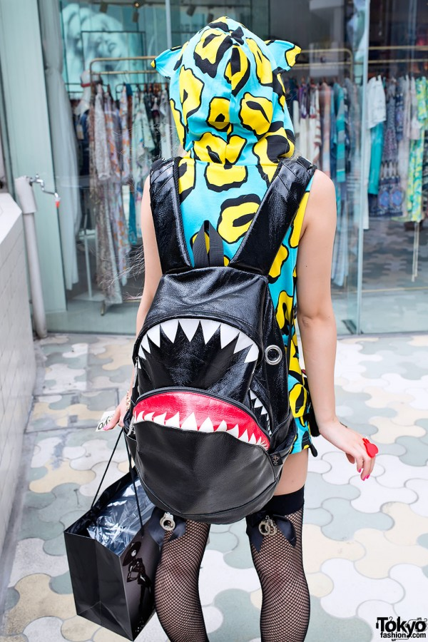 Morn shark backpack