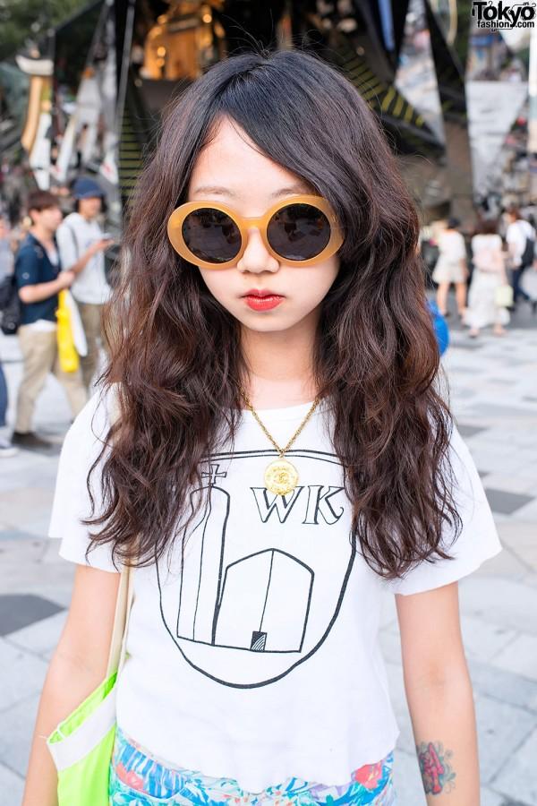 Sly Sunglasses in Harajuku