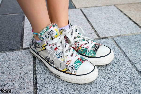 Graphic Chuck Taylor All Star Sneakers in Harajuku