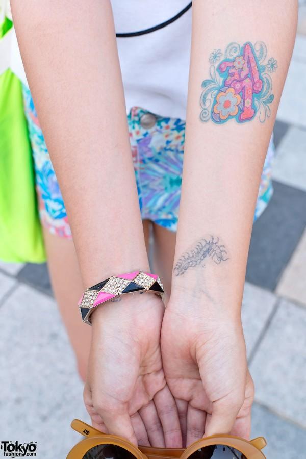 Harajuku Temporary Tattoos