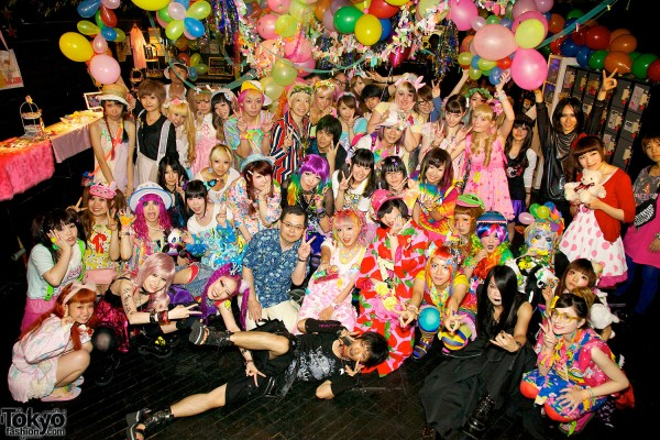 Harajuku Fashion Party Pop N Cute #3 (120)
