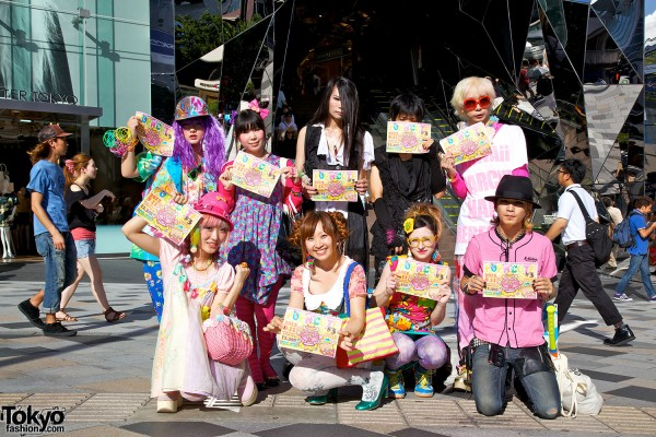 Pop N Cute Harajuku Fashion Party Summer 2012 (1)