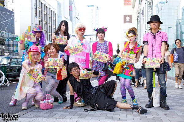 Pop N Cute Harajuku Fashion Party Summer 2012 (4)