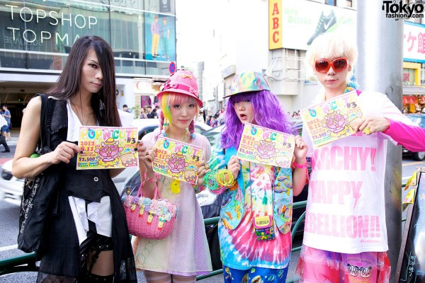 Pop N Cute Harajuku Fashion Party Summer 2012 (10)