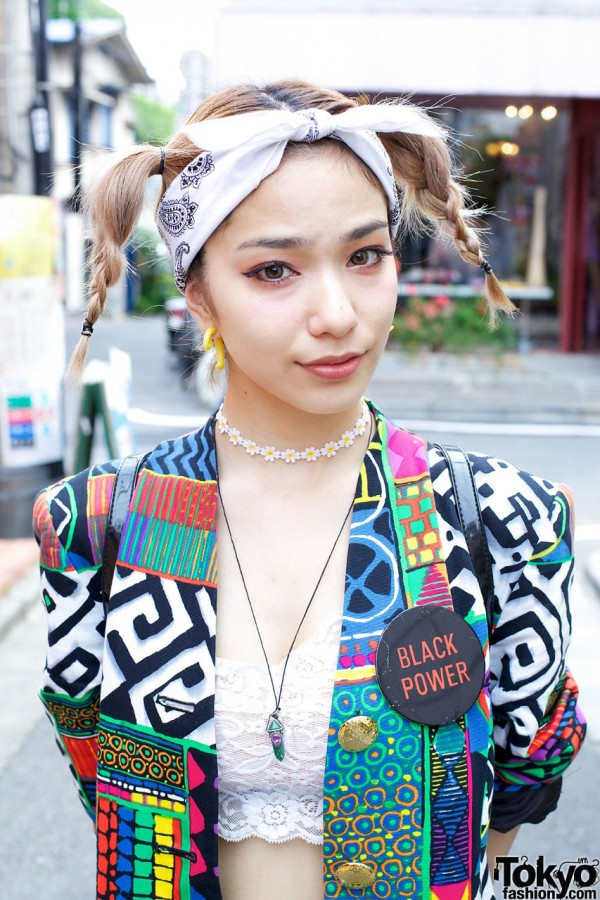Japanese Model Una W Vintage Fashion Amp Cute Hairstyle In