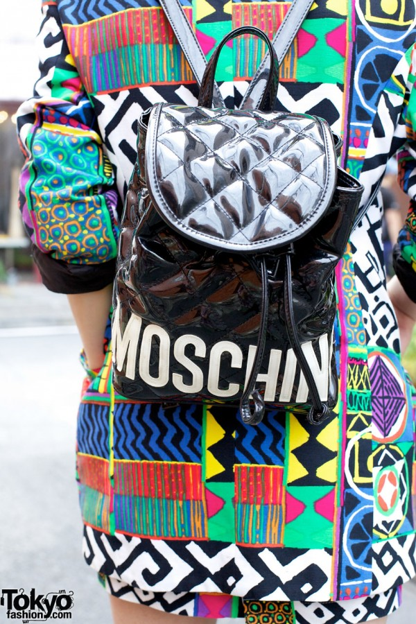 Vintage Moschino Backpack in Harajuku