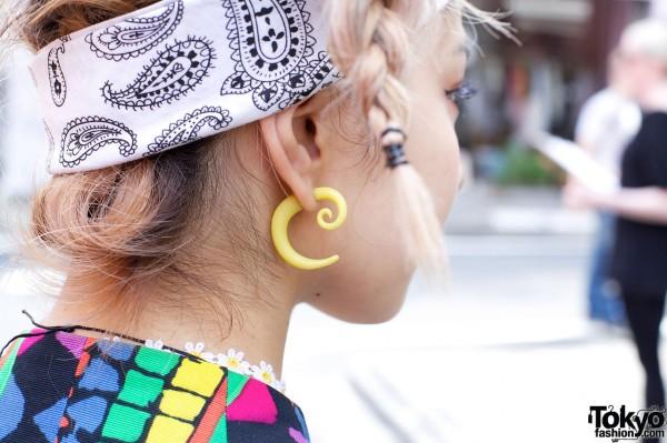Una's Topshop Earring