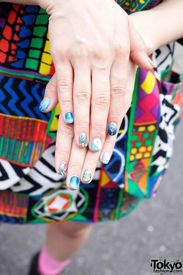 Una's Japanese Nail Art