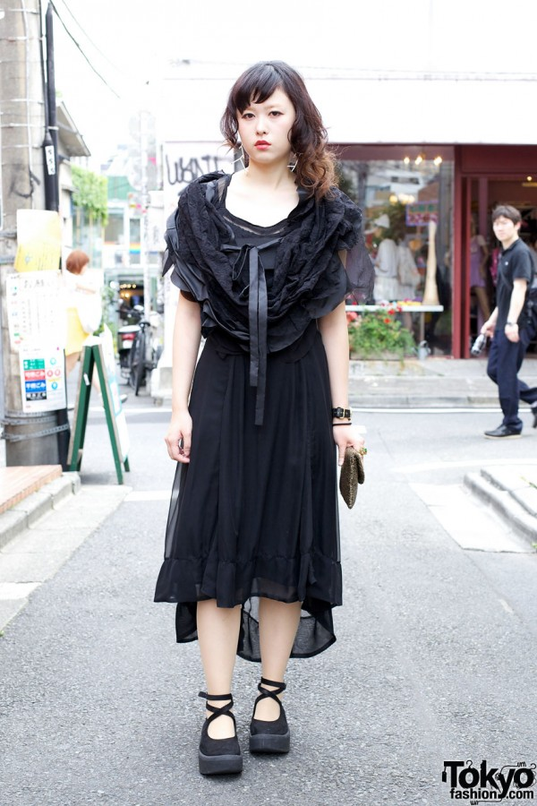 Comme des Garcons Dipped Hem Dress