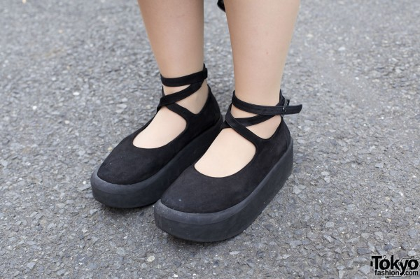 Tokyo Bopper ankle strap shoes