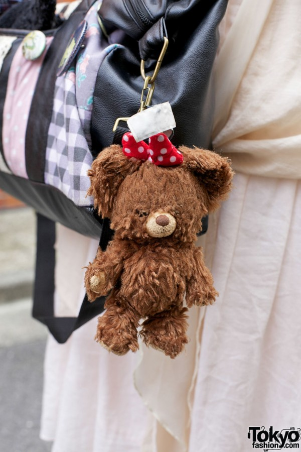 Stuffed bear accessory