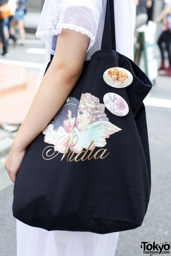 Nadia bag & Katie buttons