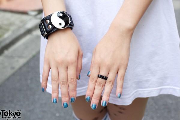 Yin-Yang symbol taijitu Bracelet
