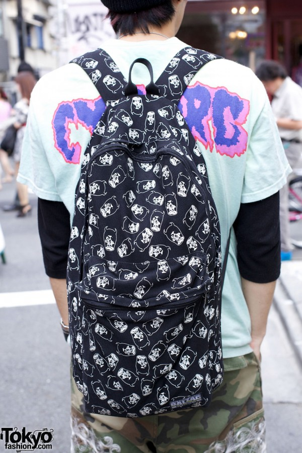 Balzac print backpack